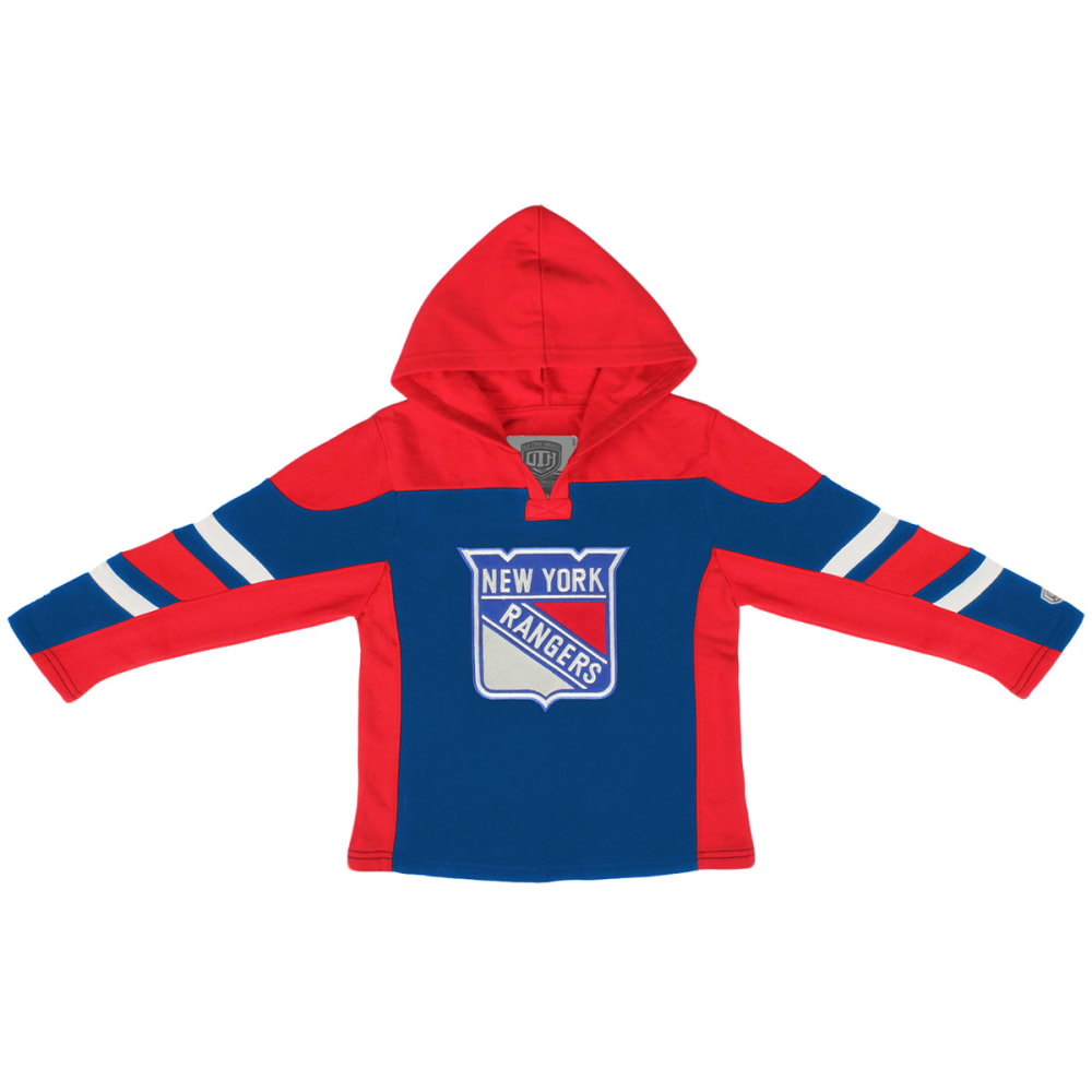 NEW YORK RANGERS Boys' Drift Pullover Hoodie - ROYAL BLUE