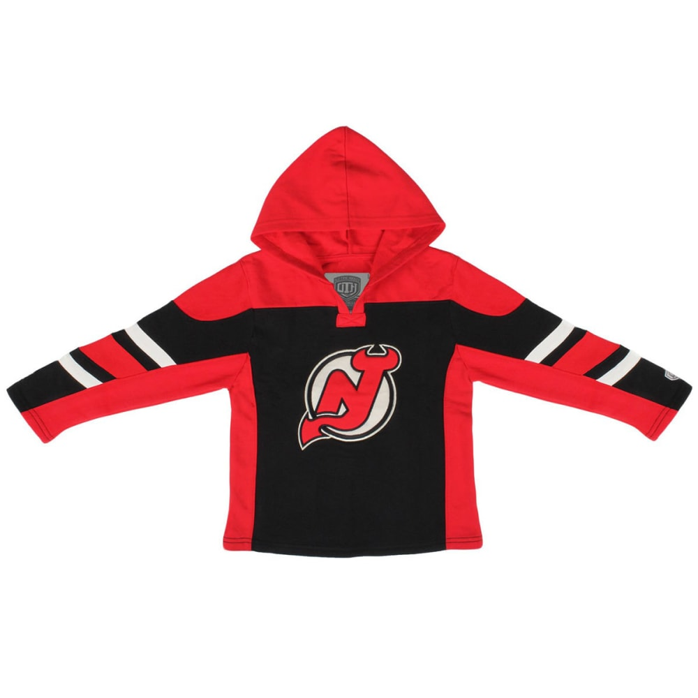 NEW JERSEY DEVILS Boys' Drift Hoodie - RED