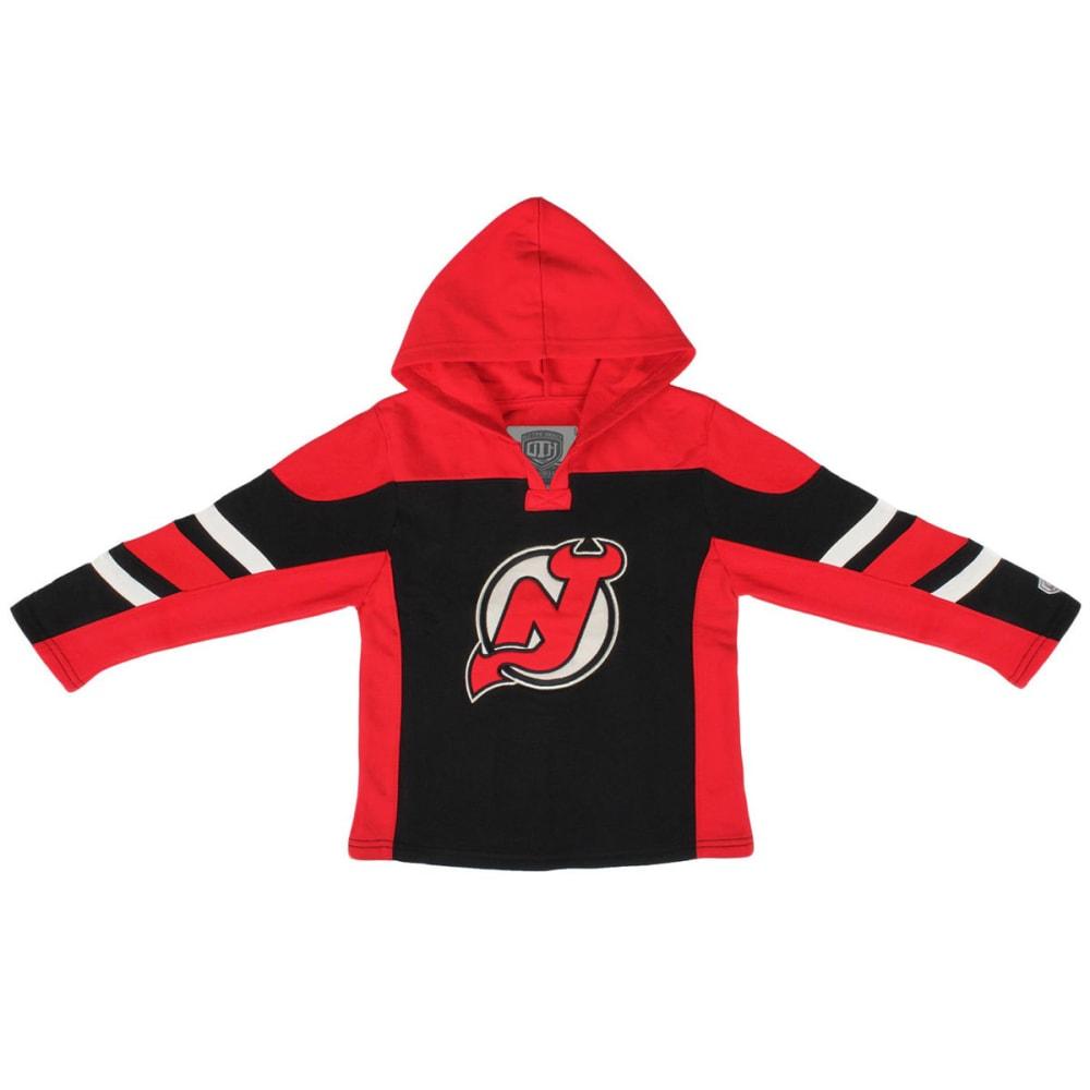 NEW JERSEY DEVILS Boys' Drift Hoodie - RED
