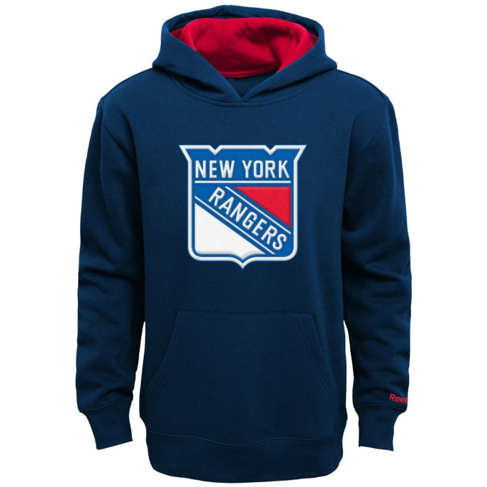 NEW YORK RANGERS Boy's Prime Basic Pullover Hoodie - ROYAL BLUE