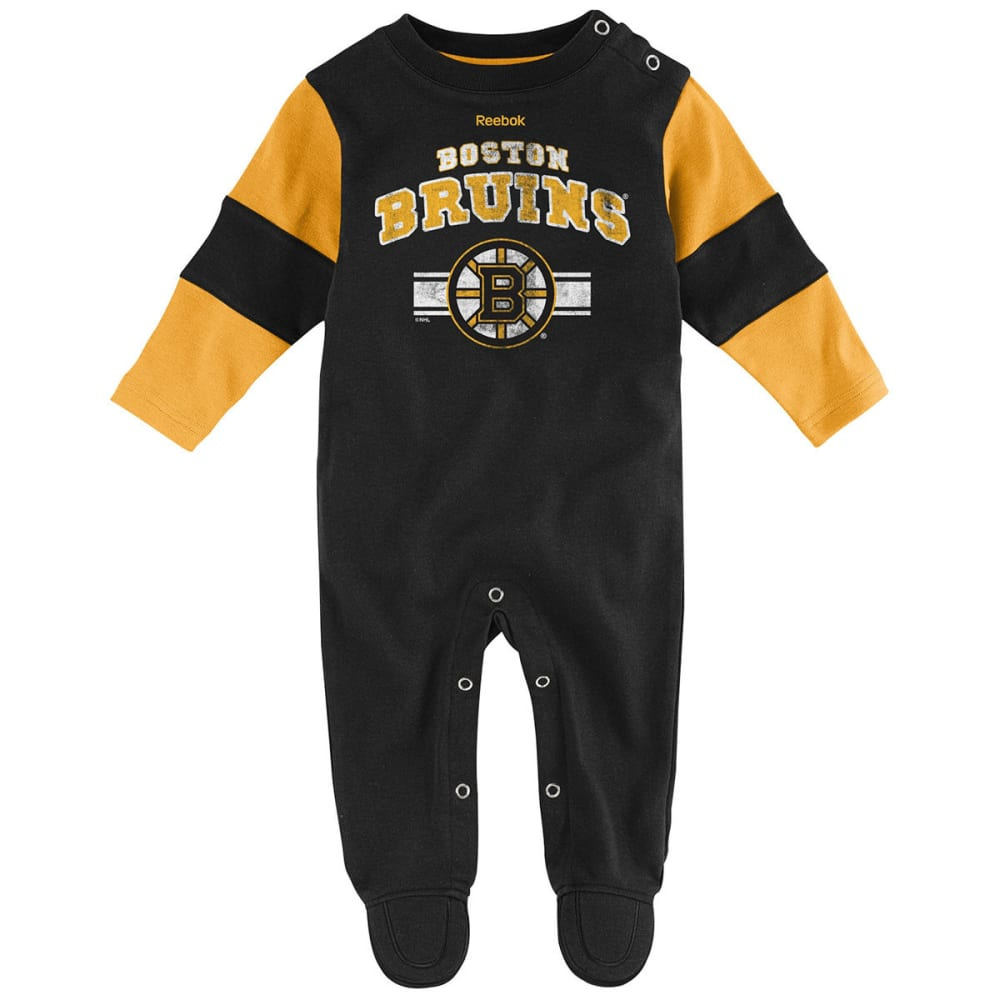 BOSTON BRUINS Baby Boys' Team Believer Coverall - BLACK