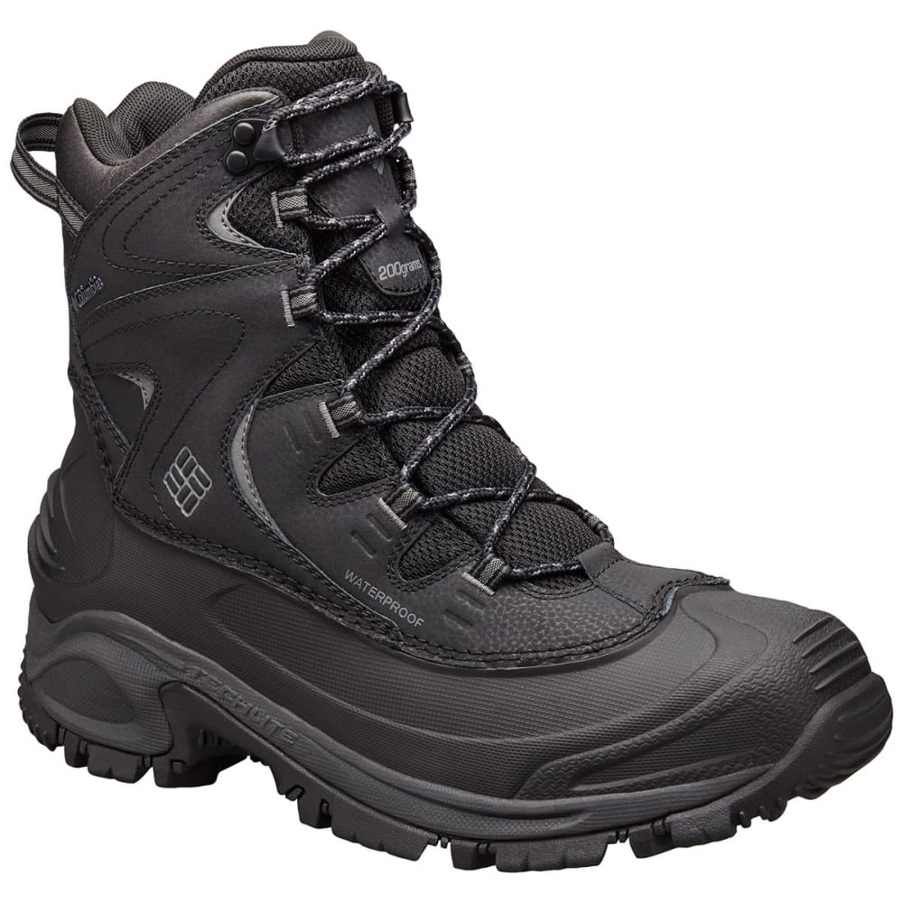 COLUMBIA Men's Bugaboot II Boots - BLACK/CHARCOAL