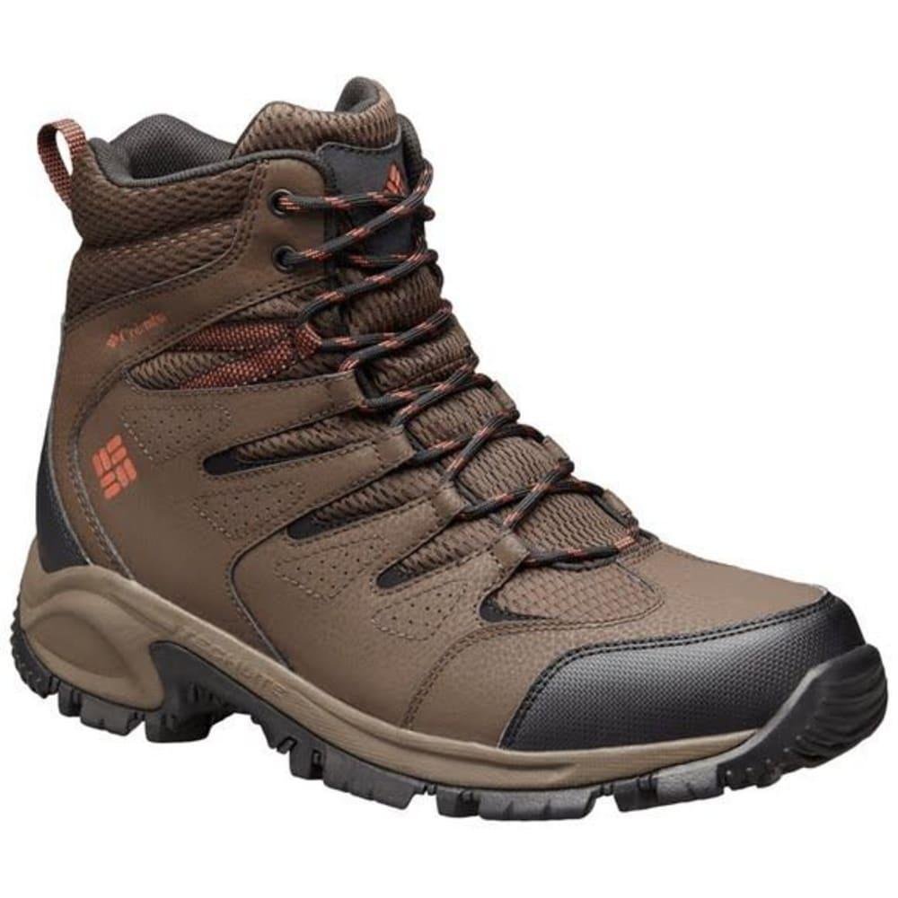 COLUMBIA Men's Gunnison Omni Grip Teclite Waterproof Boots - 231 CORDOVAN BRN