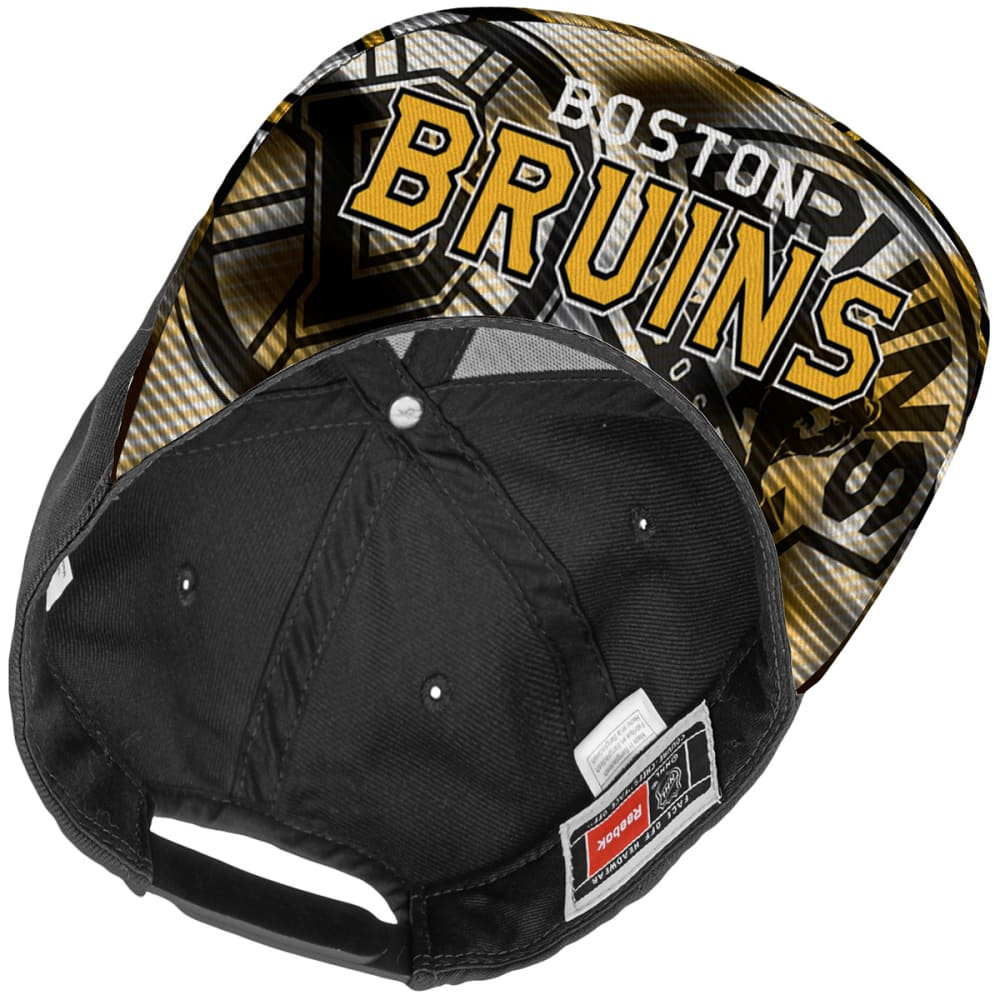 BOSTON BRUINS Kids' Sublimation Snapback Cap - BLACK