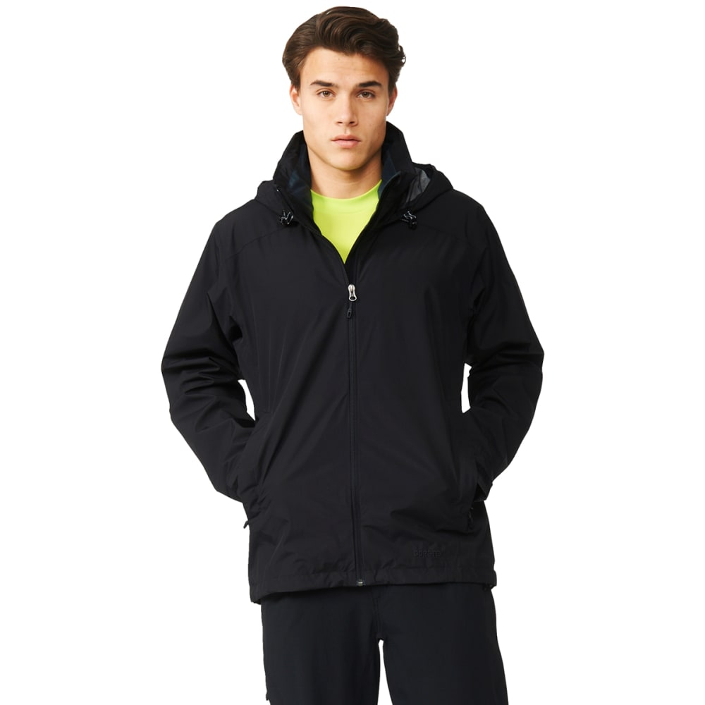 ADIDAS Men's 2-Layer Gore-Tex Wandertag Jacket - BLACK
