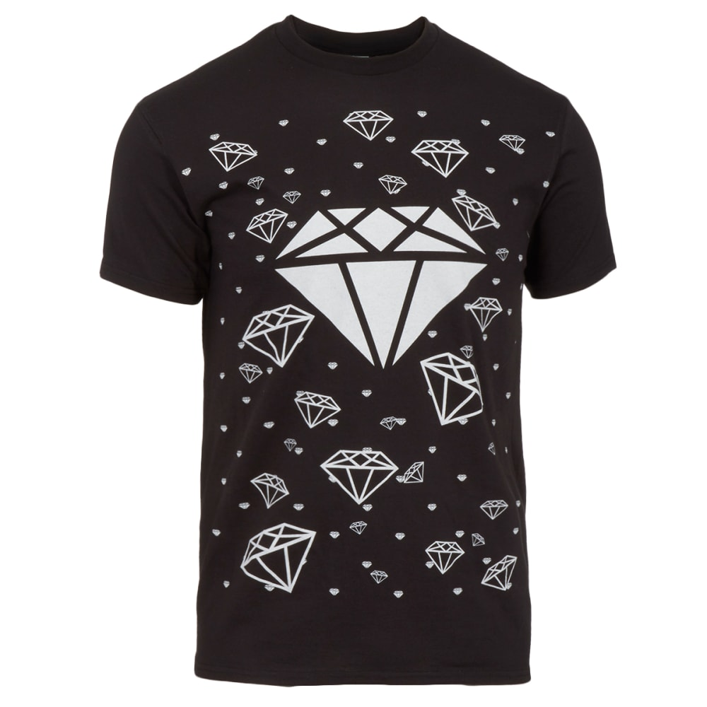 HYBRID Men's Diamonds Forever Tee - BLACK