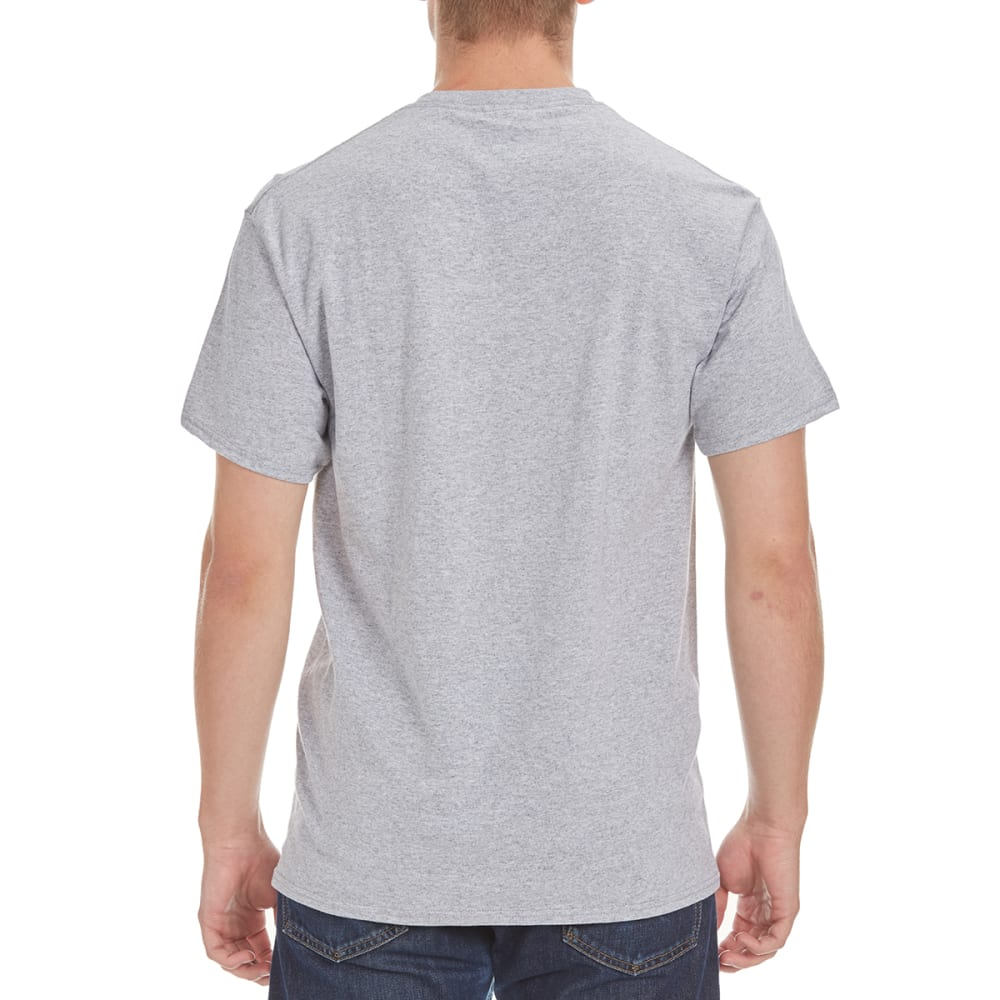 HYBRID Men's Becoming An Adult Tee - HEATHER GREY