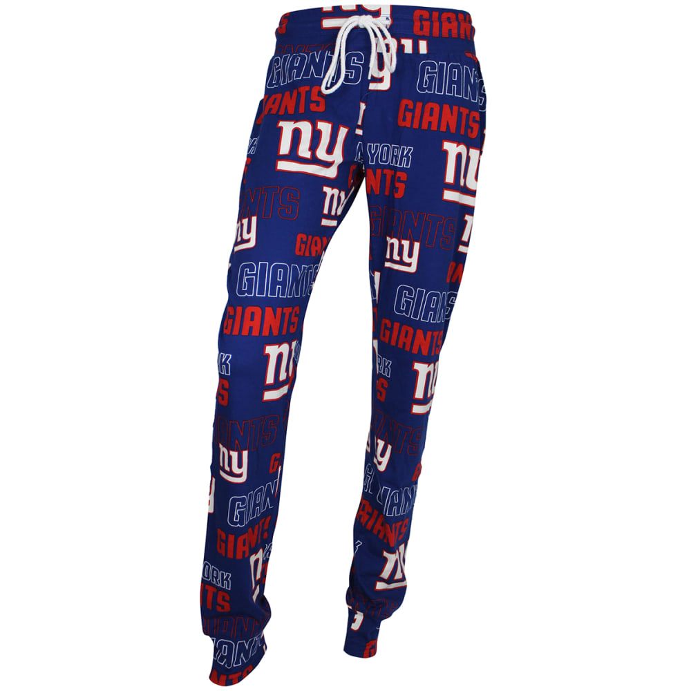 NEW YORK GIANTS Women's Sweep Printed Sleep Pants - ROYAL BLUE