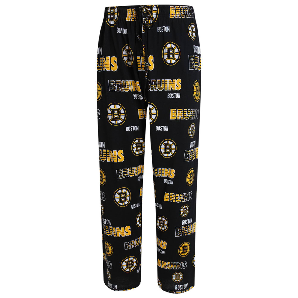 BOSTON BRUINS Women's Printed Sweep Sleep Pants - BLACK