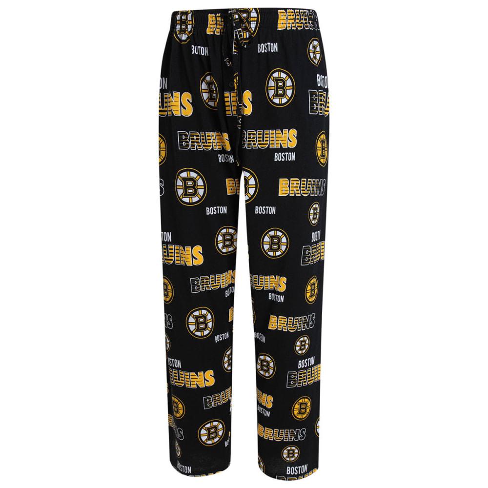 BOSTON BRUINS Women's Printed Sweep Sleep Pants - BLACK