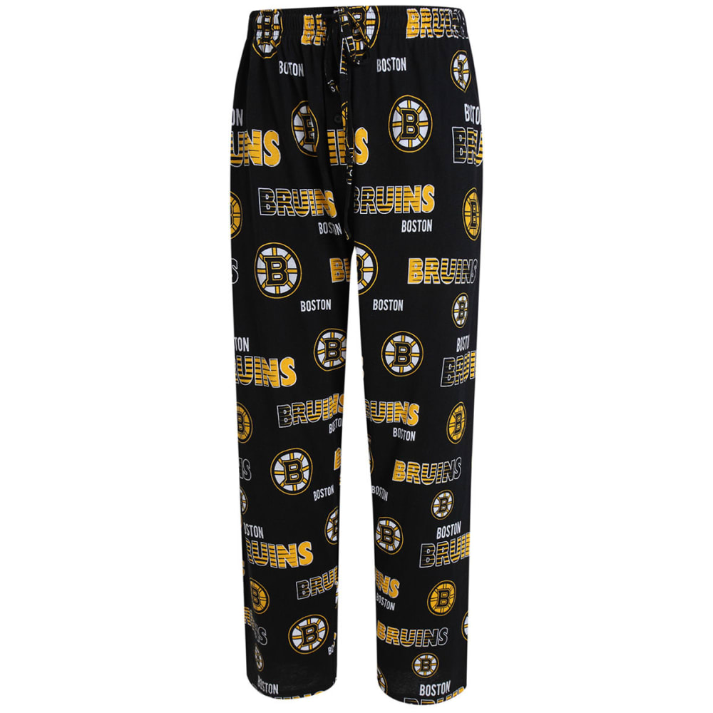 BOSTON BRUINS Men's Sweep Sleep Pants - BLACK