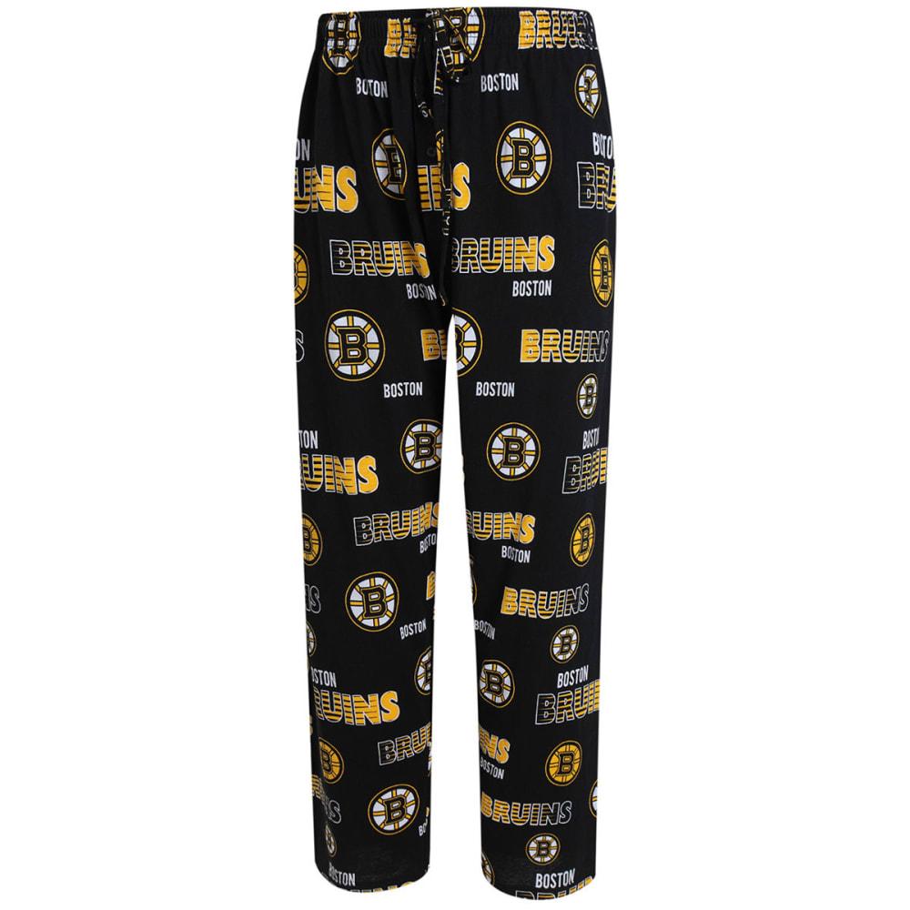 BOSTON BRUINS Men's Sweep Sleep Pants - BLACK