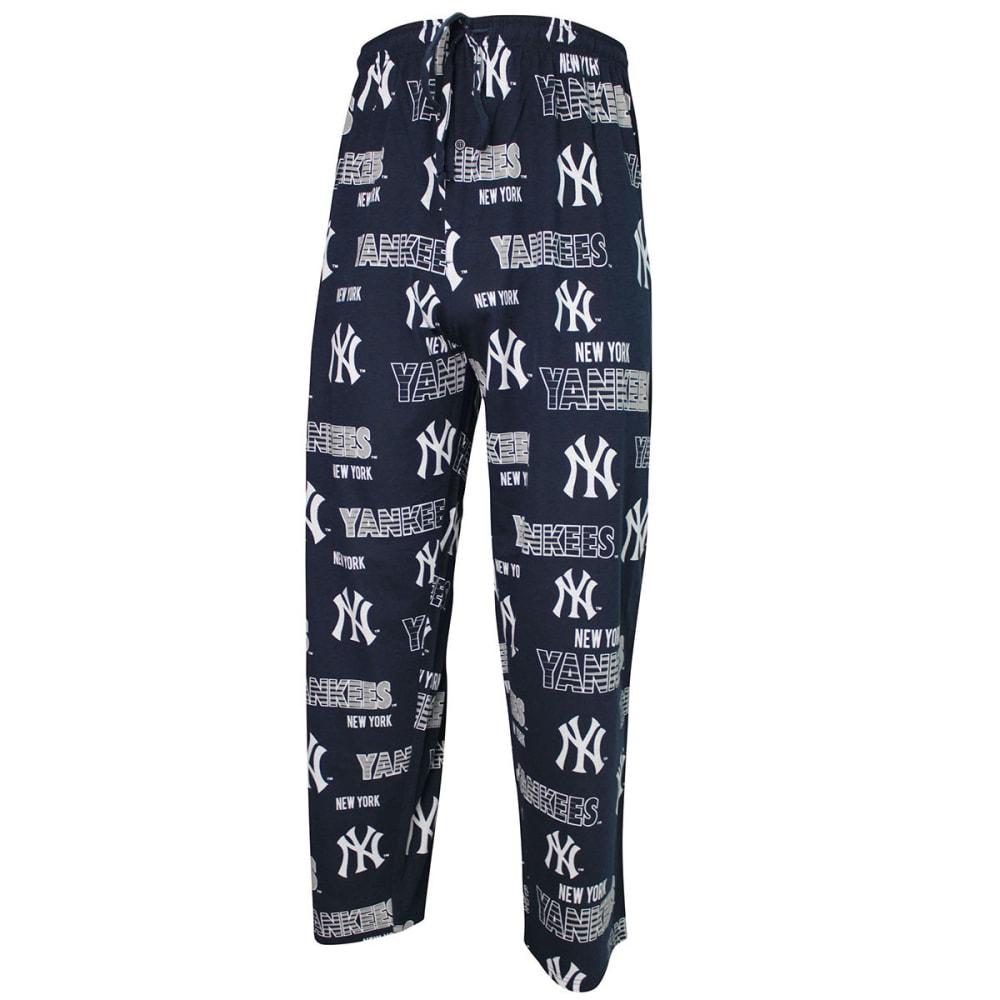 NEW YORK YANKEES Men's Solid Sweep Sleep Pants - NAVY