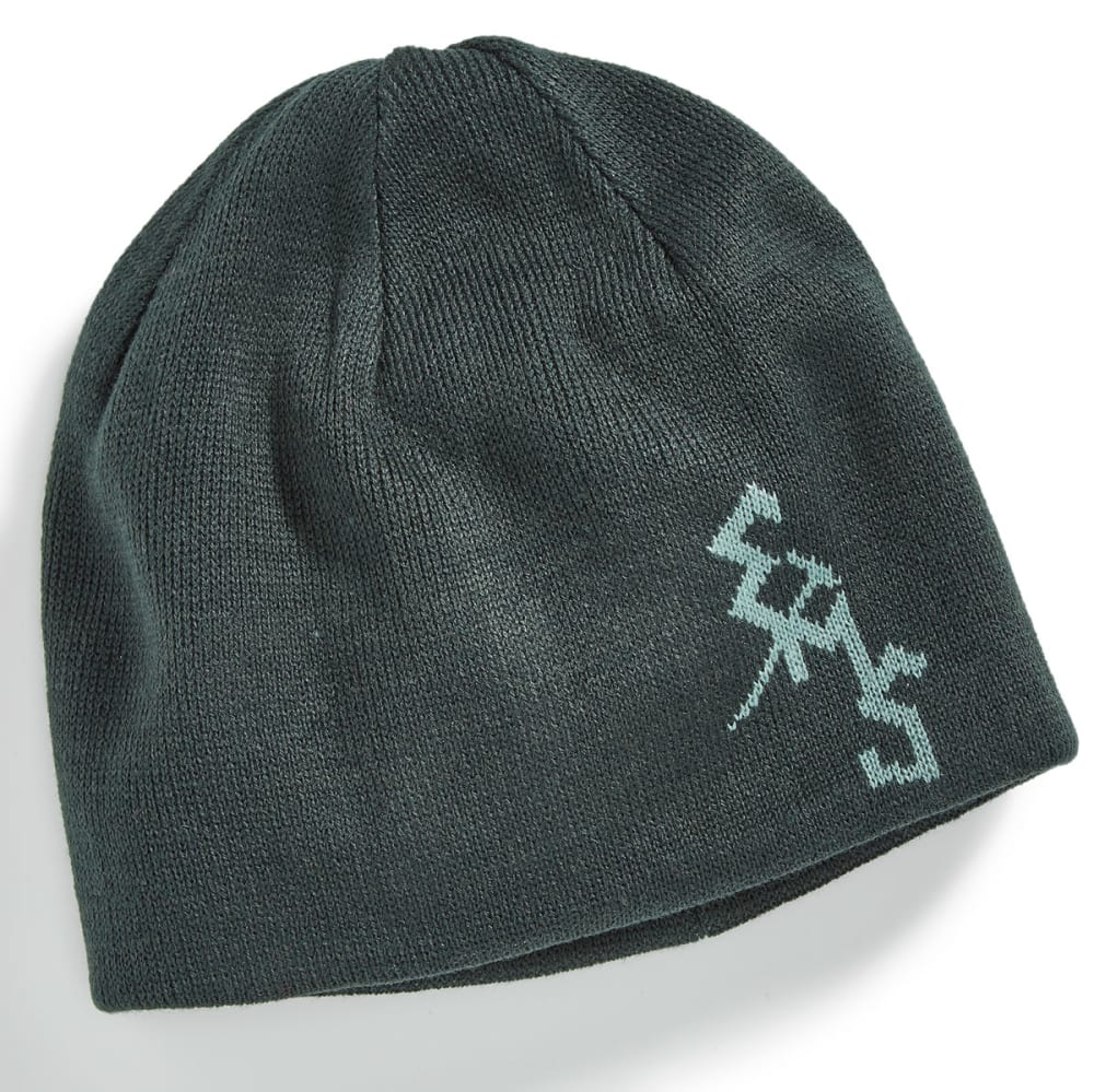 EMS® Ice Axe Reversible Beanie - GREEN GABLES/OIL BLU