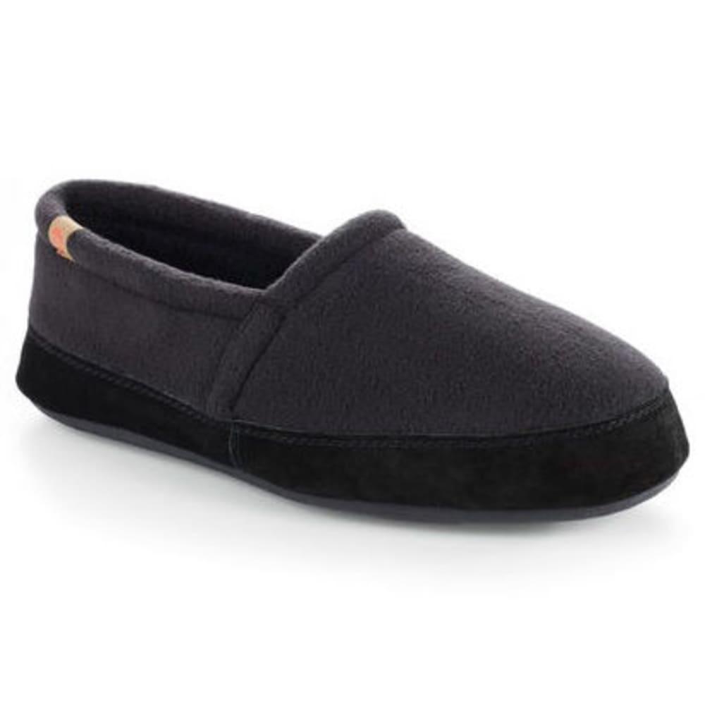 ACORN Men's Moc Shoes, Black S