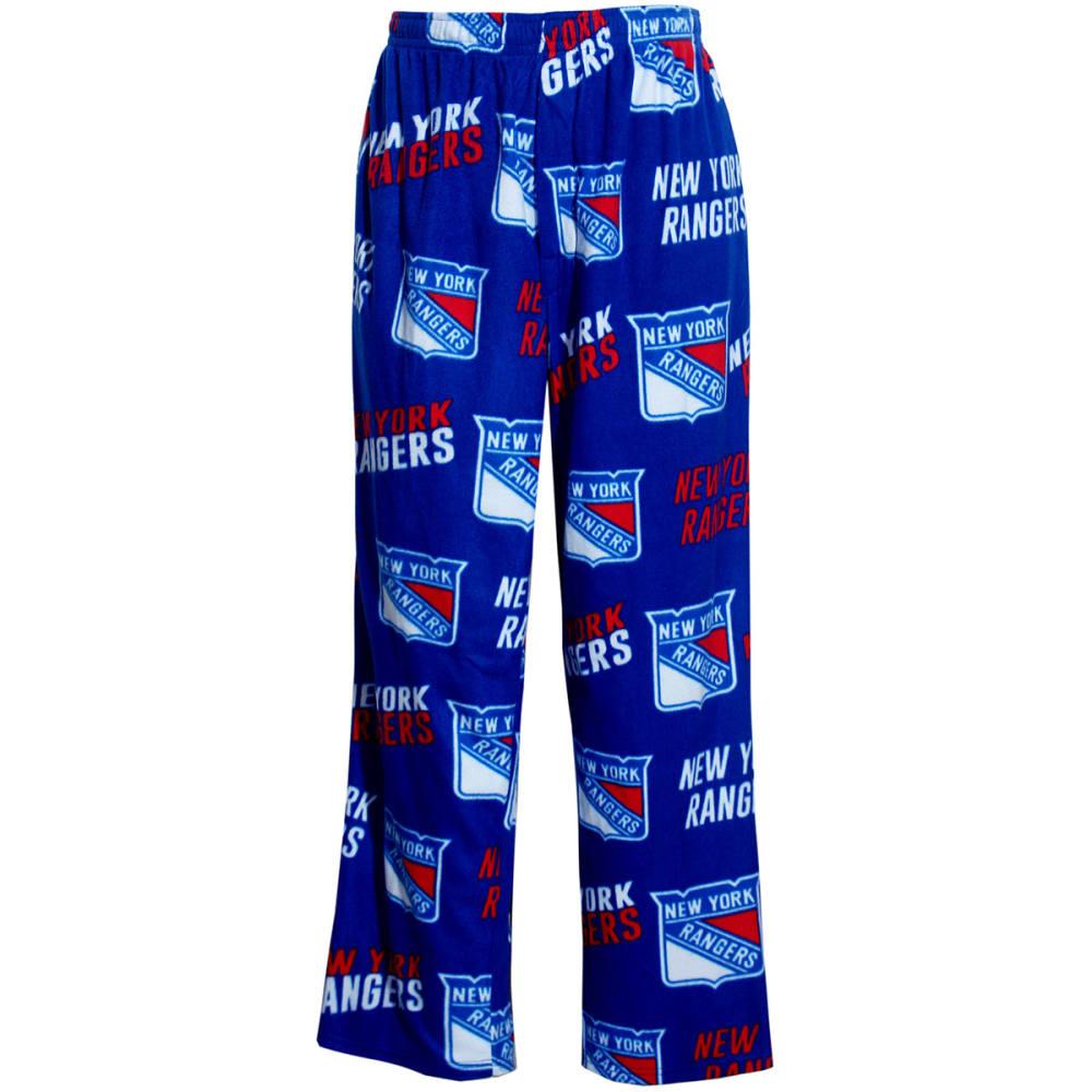 NEW YORK RANGERS Men's Wildcard Sleep Pants - ROYAL BLUE