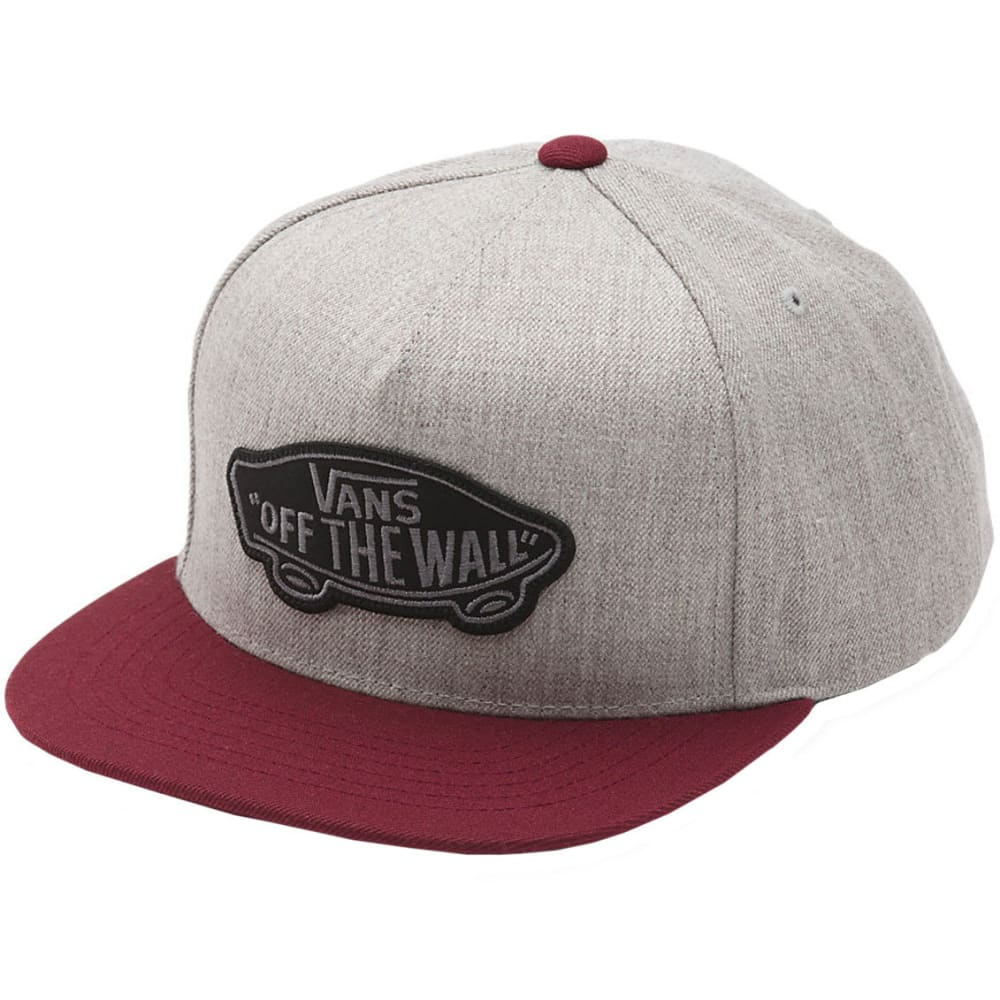 VANS Guys' Classic Patch Snapback - HTR GRY/PORT ROYALE