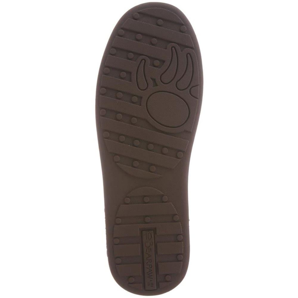 BEARPAW Men's Aztec Moccasin II Slippers - CHOCOLATE AZTEC