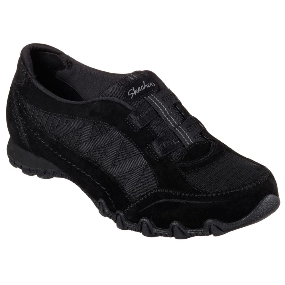 SKECHERS Women's Relaxed Fit: Bikers – Crossroads Sneakers - BLACK