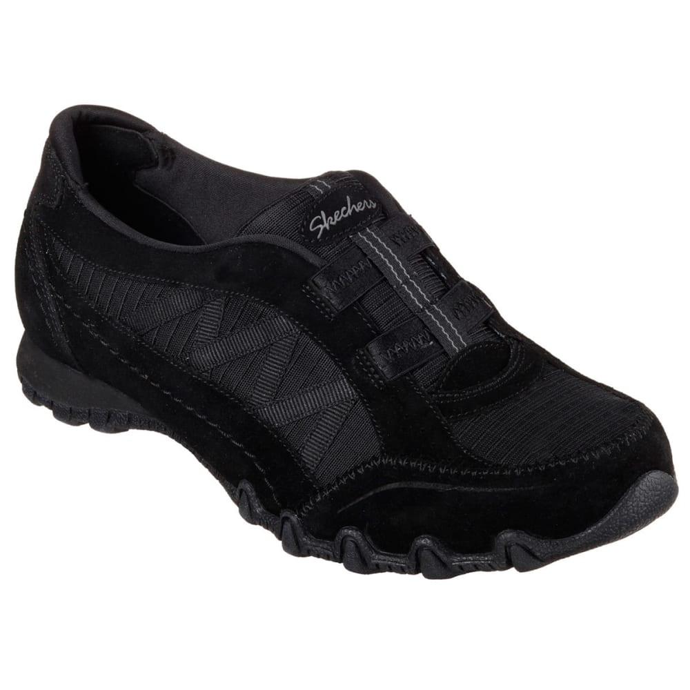 SKECHERS Women's Relaxed Fit: Bikers – Crossroads Sneakers - BLACK