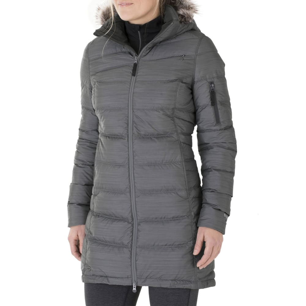 OUTDOOR RESEARCH Women's Fernie Down Parka - 0589-PEWTER