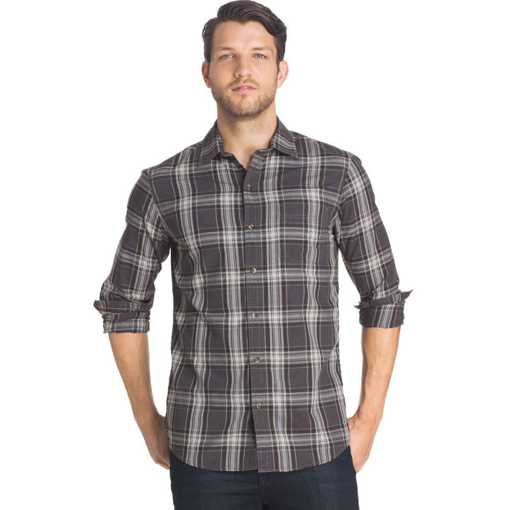 G.H. BASS & CO. Men's Madawaska Twill Shirt - 067-RAVEN HTR