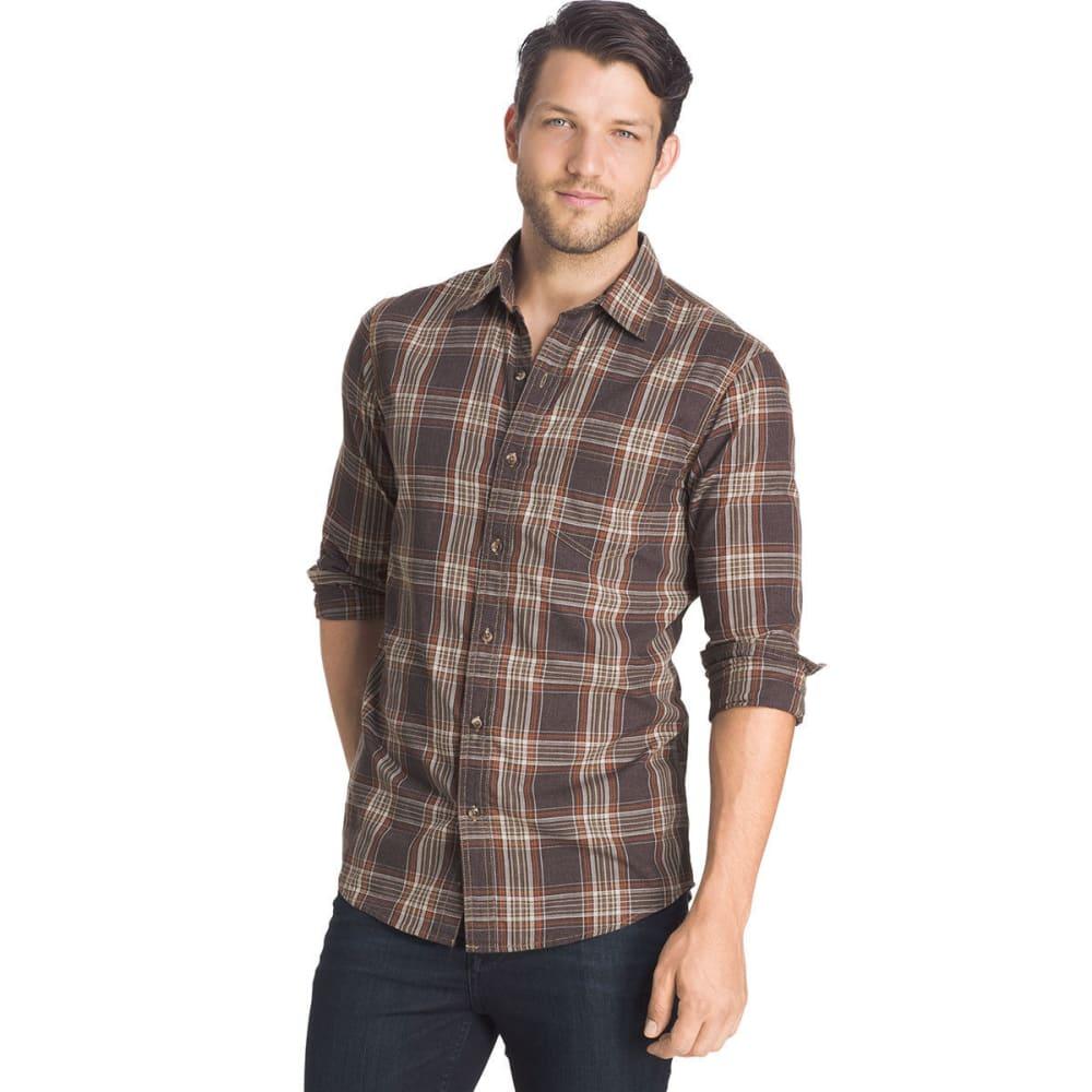 G.H. BASS & CO. Men's Madawaska Twill Shirt - 201-AFTER DARK HTR