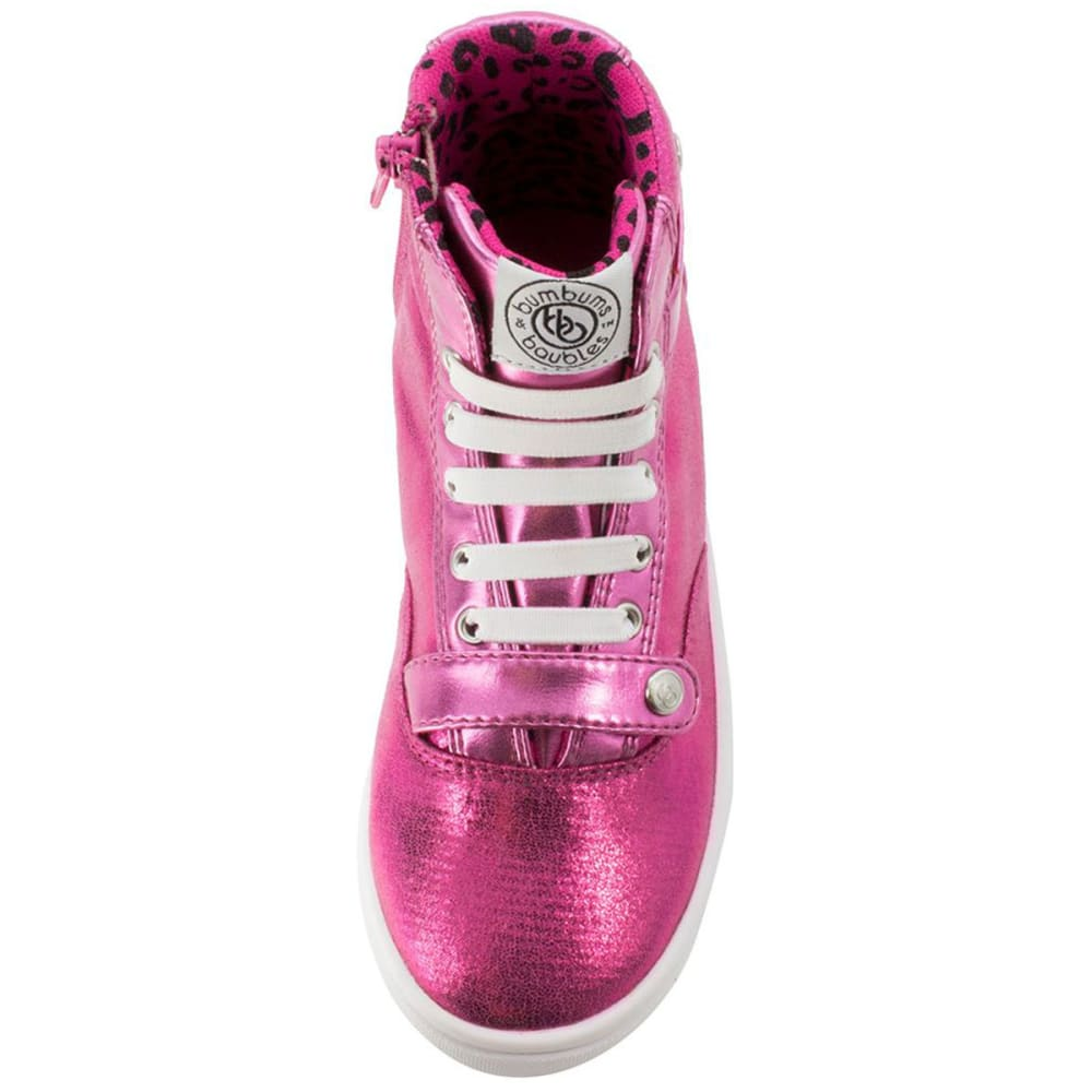 BUMBUMS & BAUBLES Girls' Brooklyn Hi-Tops - PINK