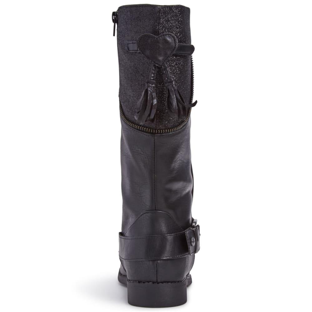 BUMBUMS & BAUBLES Girls' Jasmine Boots - BLACK