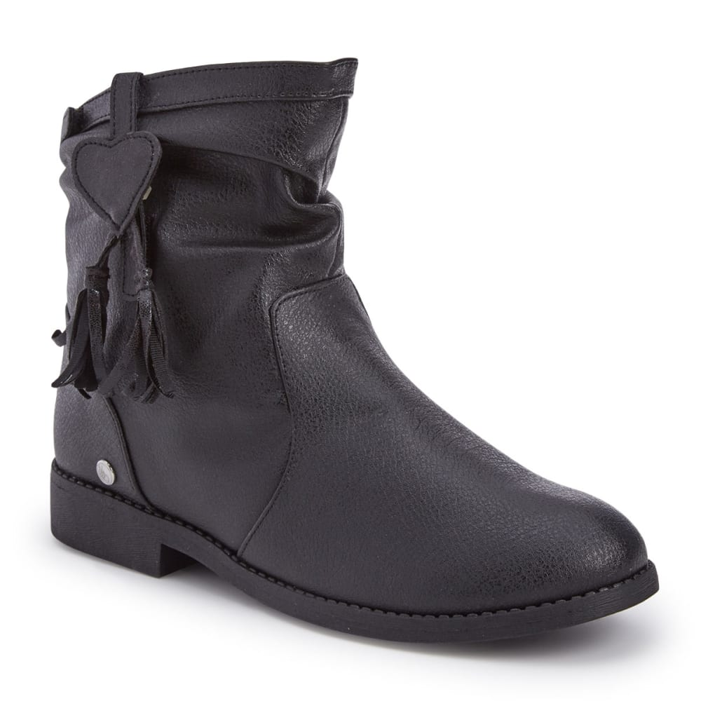 BUMBUMS & BAUBLES Girls' Sloan Boots - BLACK