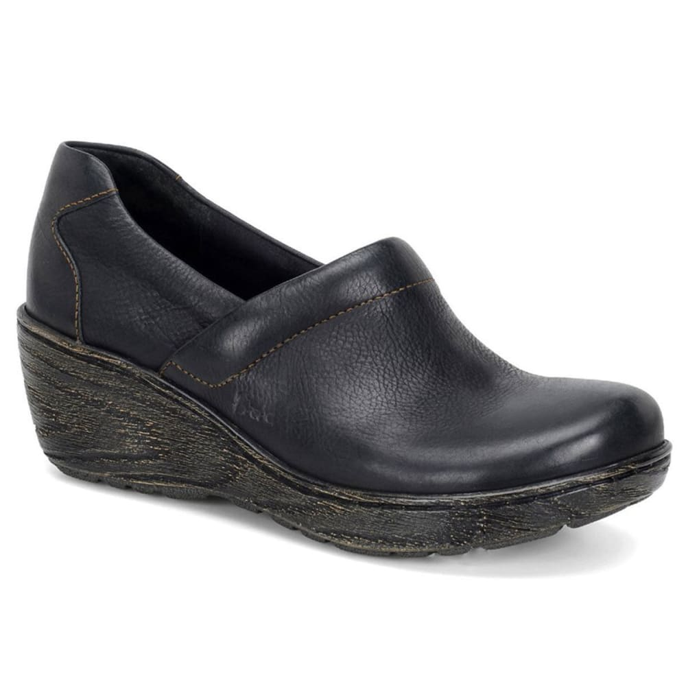 B.O.C. Women's Eileen Clogs - BLACK