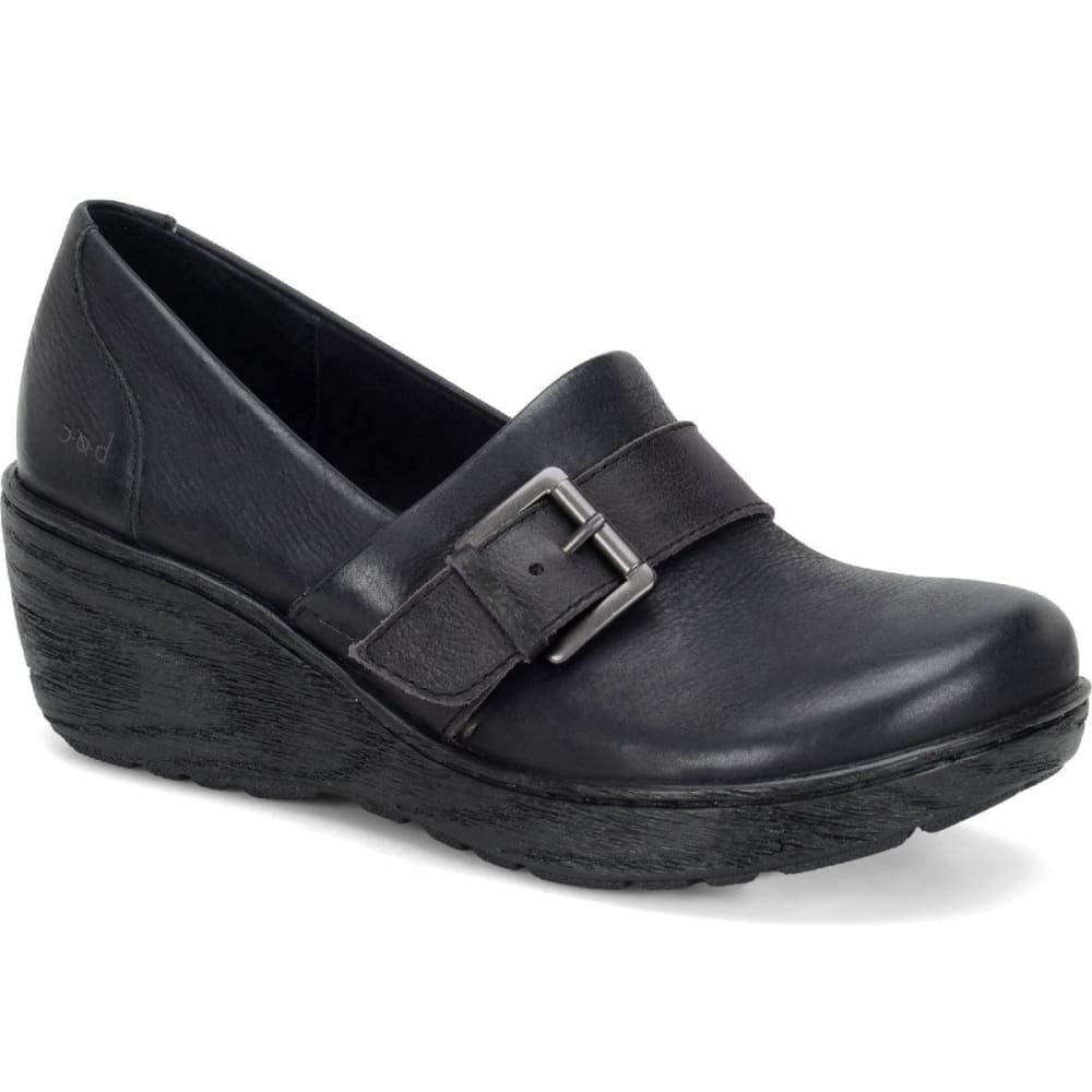 BOC Women's Rijeka Wedge Shoes - BLACK
