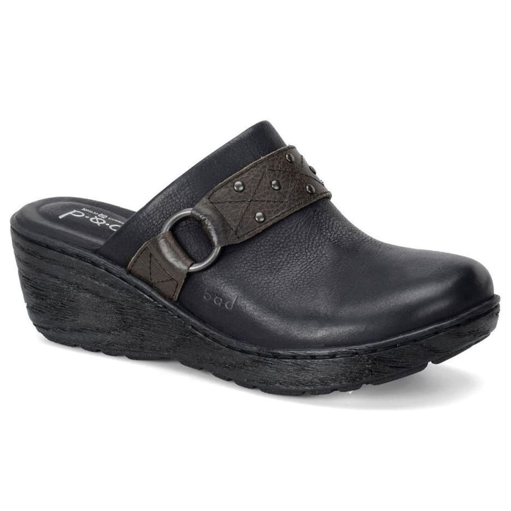 B.O.C. Women's Neisa Clogs - BLACK