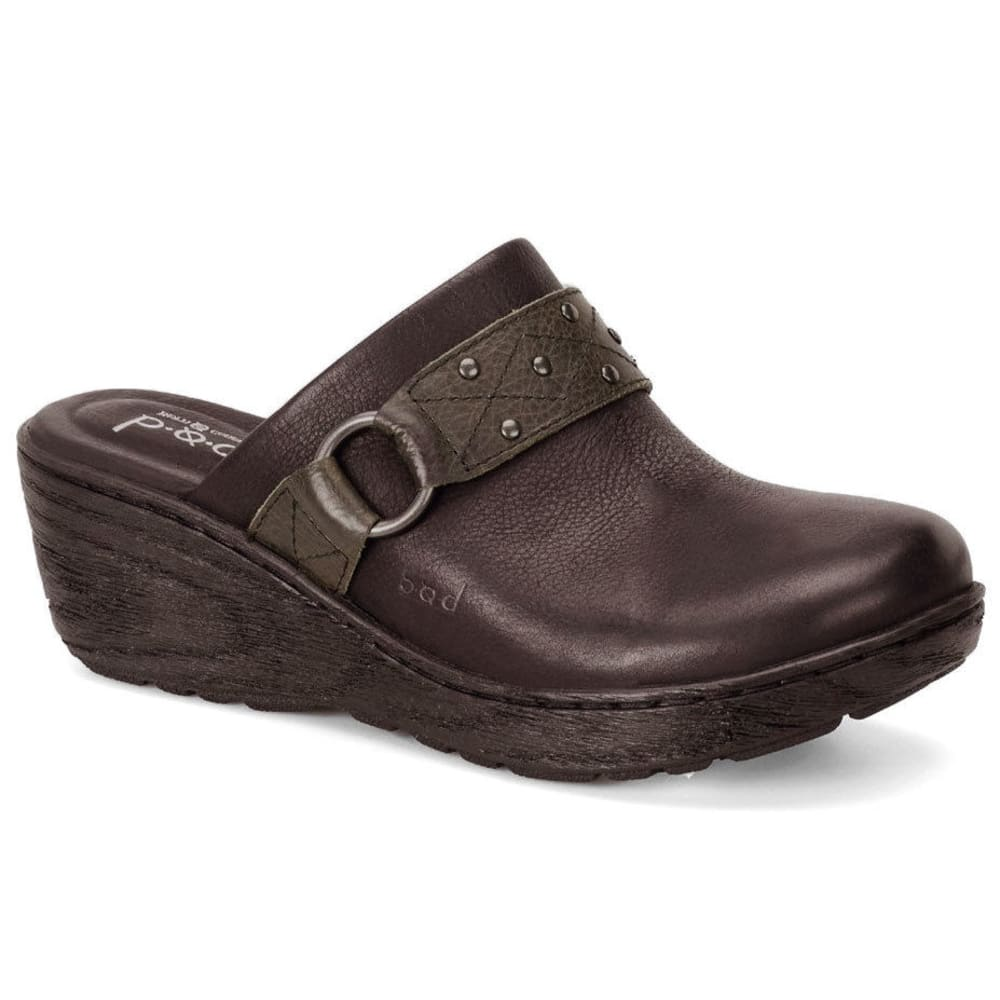 B.O.C. Women's Neisa Clogs - DARK BROWN