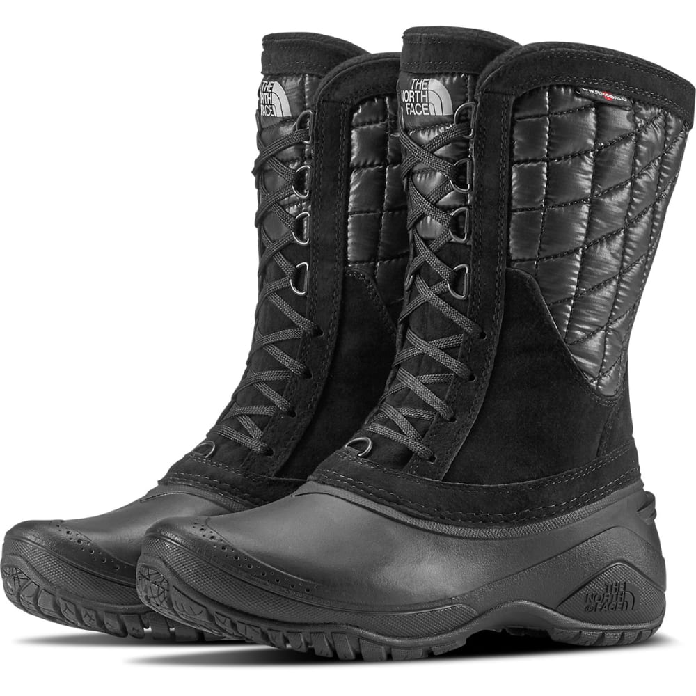 THE NORTH FACE Women's Thermoball Utility Mid Boots, Black 7