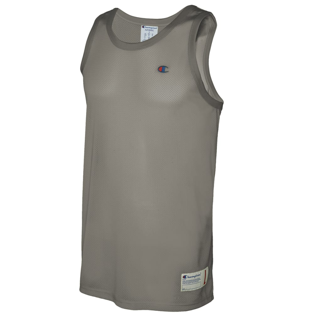 Champion Men's Single Layer Mesh Tank - Black, XXL