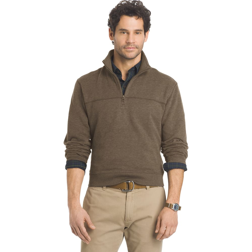 ARROW Men's Sueded ¼-Zip Fleece - 210-BUNGEE CORD