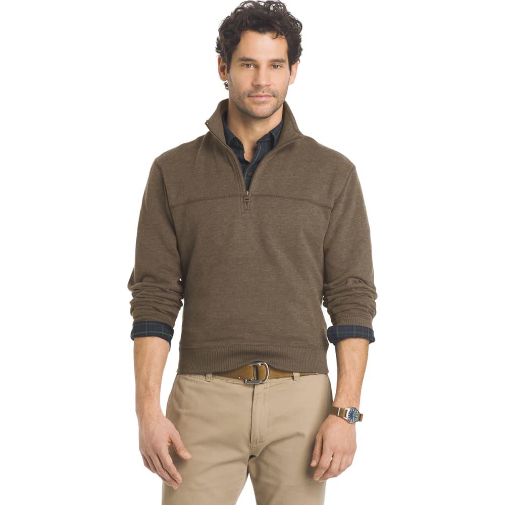 ARROW Men's Sueded ¼-Zip Fleece - 210-BUNGEE CORD