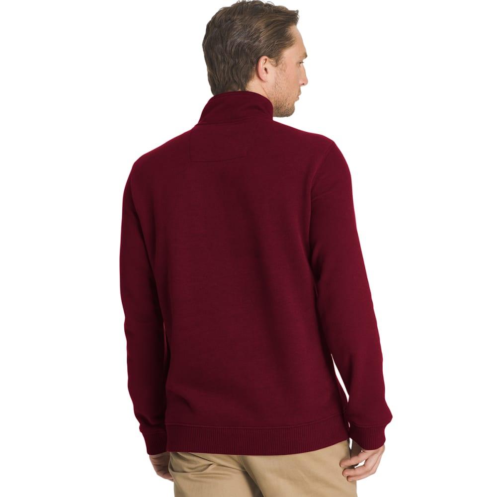 ARROW Men's Sueded ¼-Zip Fleece - 606-CHOC TRUFFLE