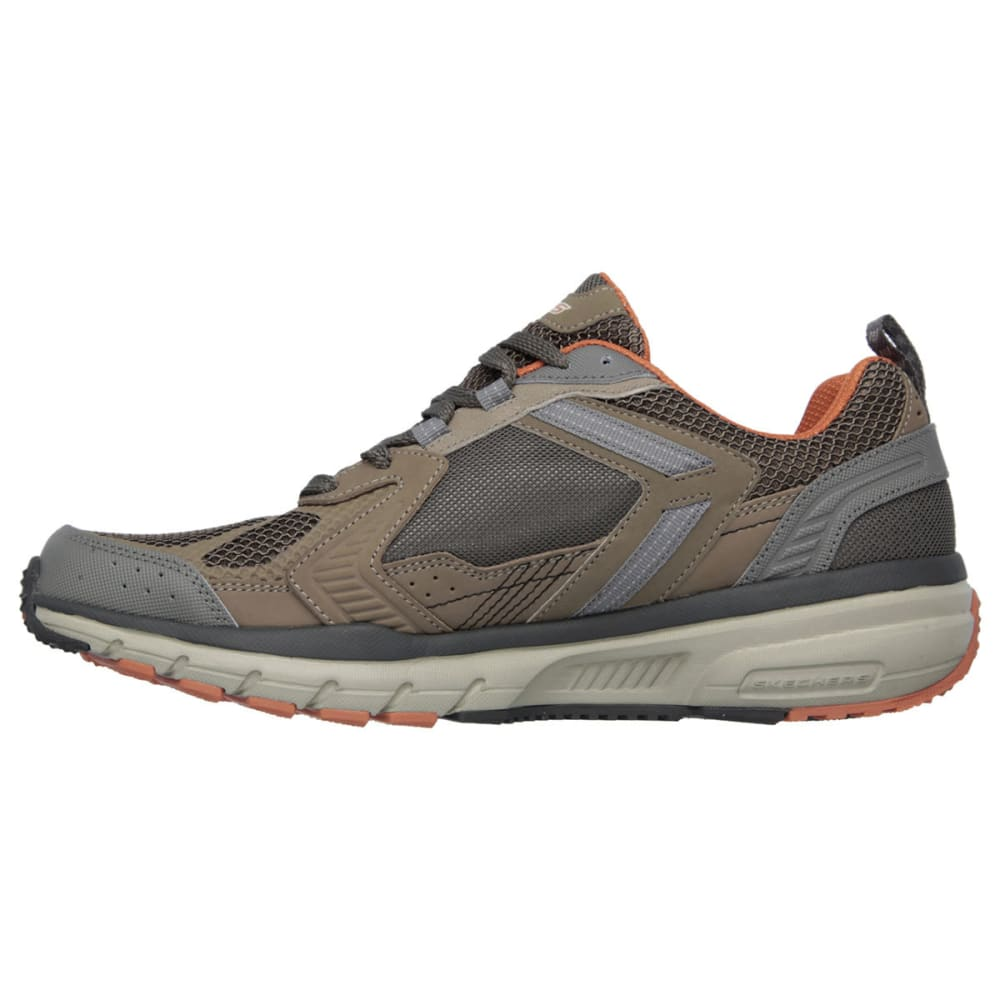 SKECHERS Men's Geo-Trek - Pro Force Sneakers - BROWN/ORANGE