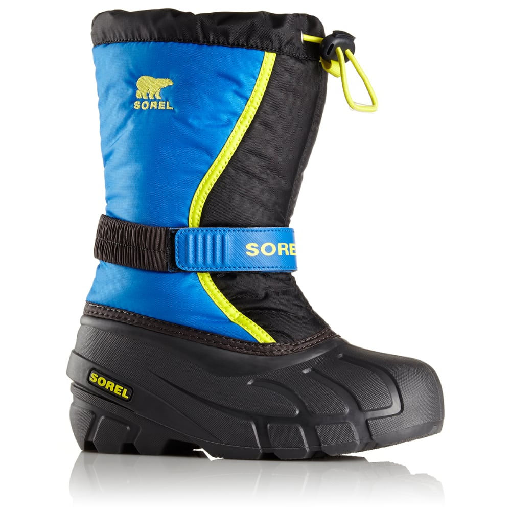 SOREL Boys' Flurry Boots - BLACK