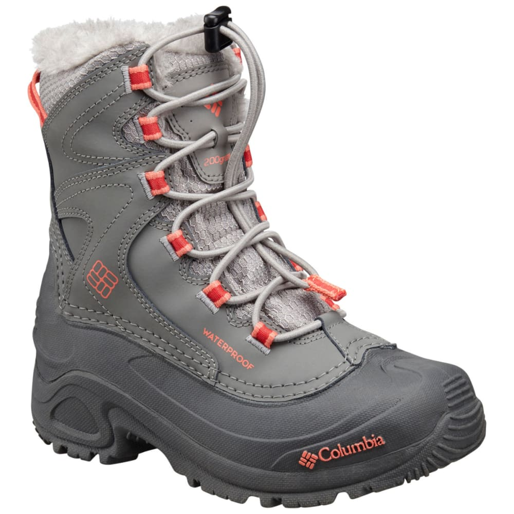 COLUMBIA Girls' Bugaboot III Boots - GREY