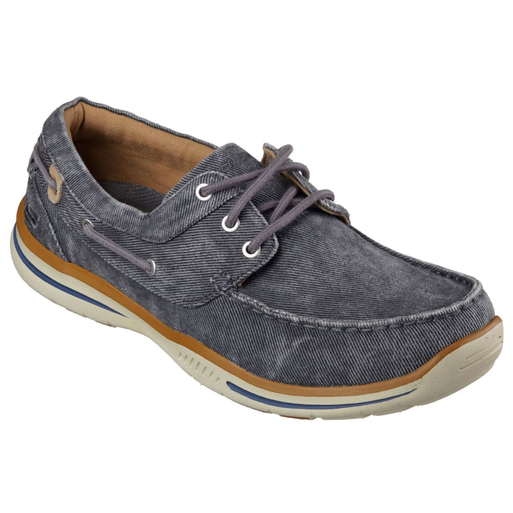 "SKECHERS Men's Relaxed Fit: Elected """" Horizon Shoes - CHARCOAL"