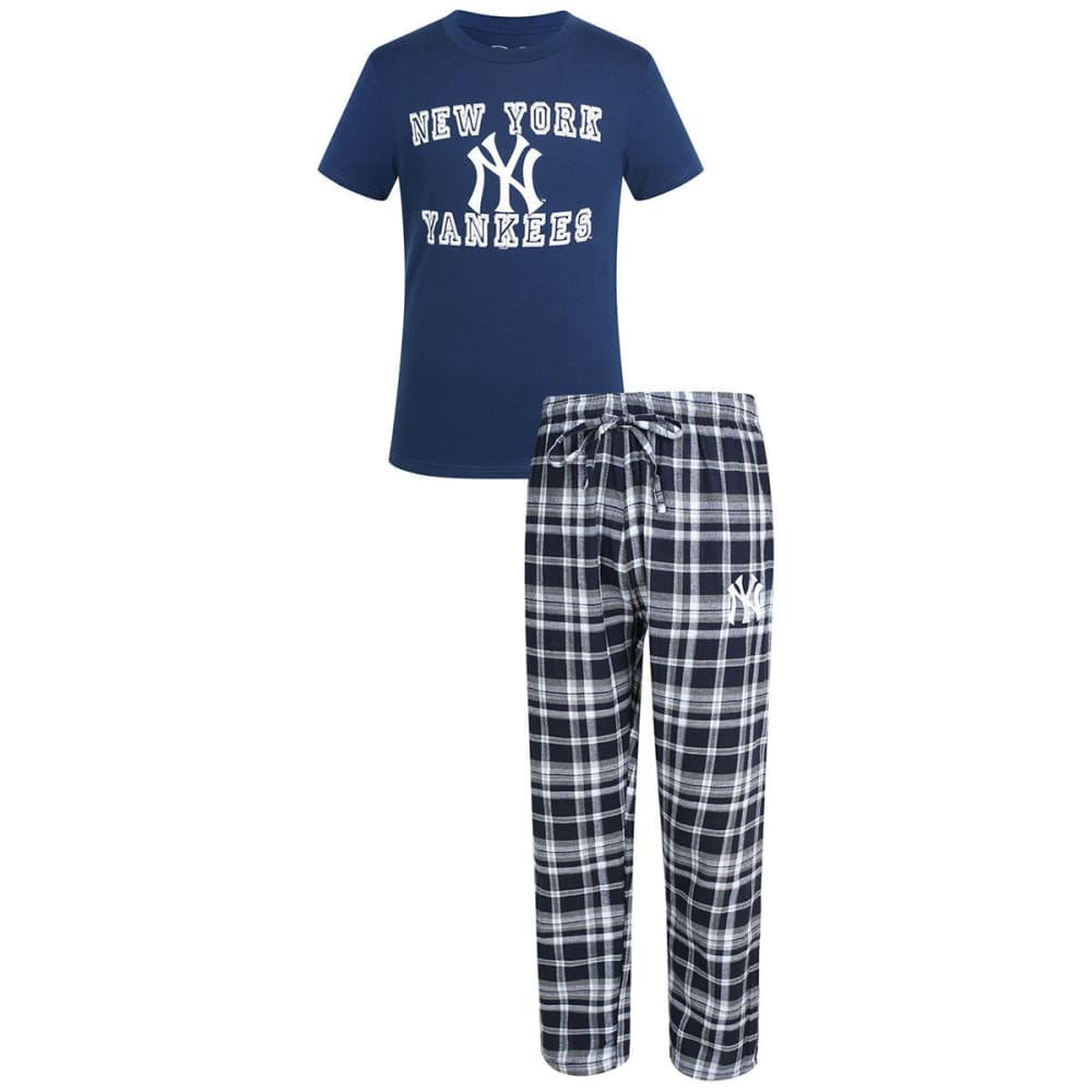 NEW YORK YANKEES Men's Tiebreaker Sleep Set - ASSORTED