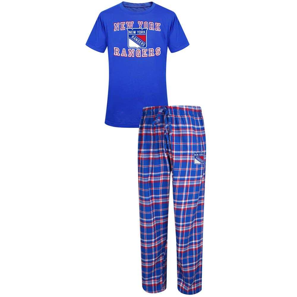 NEW YORK RANGERS Men's Sleep Set - ASSORTED