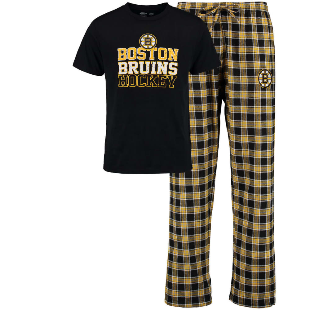 BOSTON BRUINS Men's Tiebreaker Sleep Set - ASSORTED