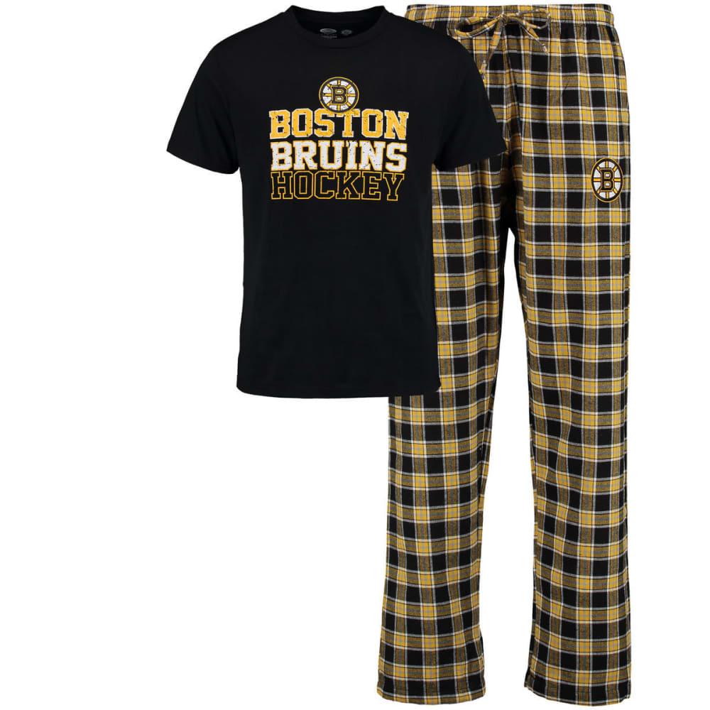 BOSTON BRUINS Men's Tiebreaker Sleep Set - ASSORTED