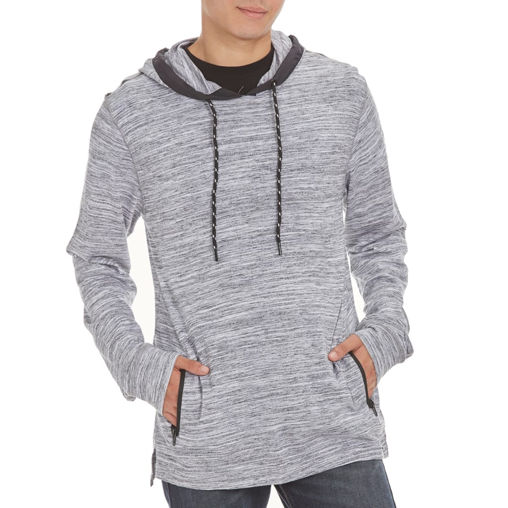 OCEAN CURRENT Guys' Chao Streaky Marled Hoodie - WHITE