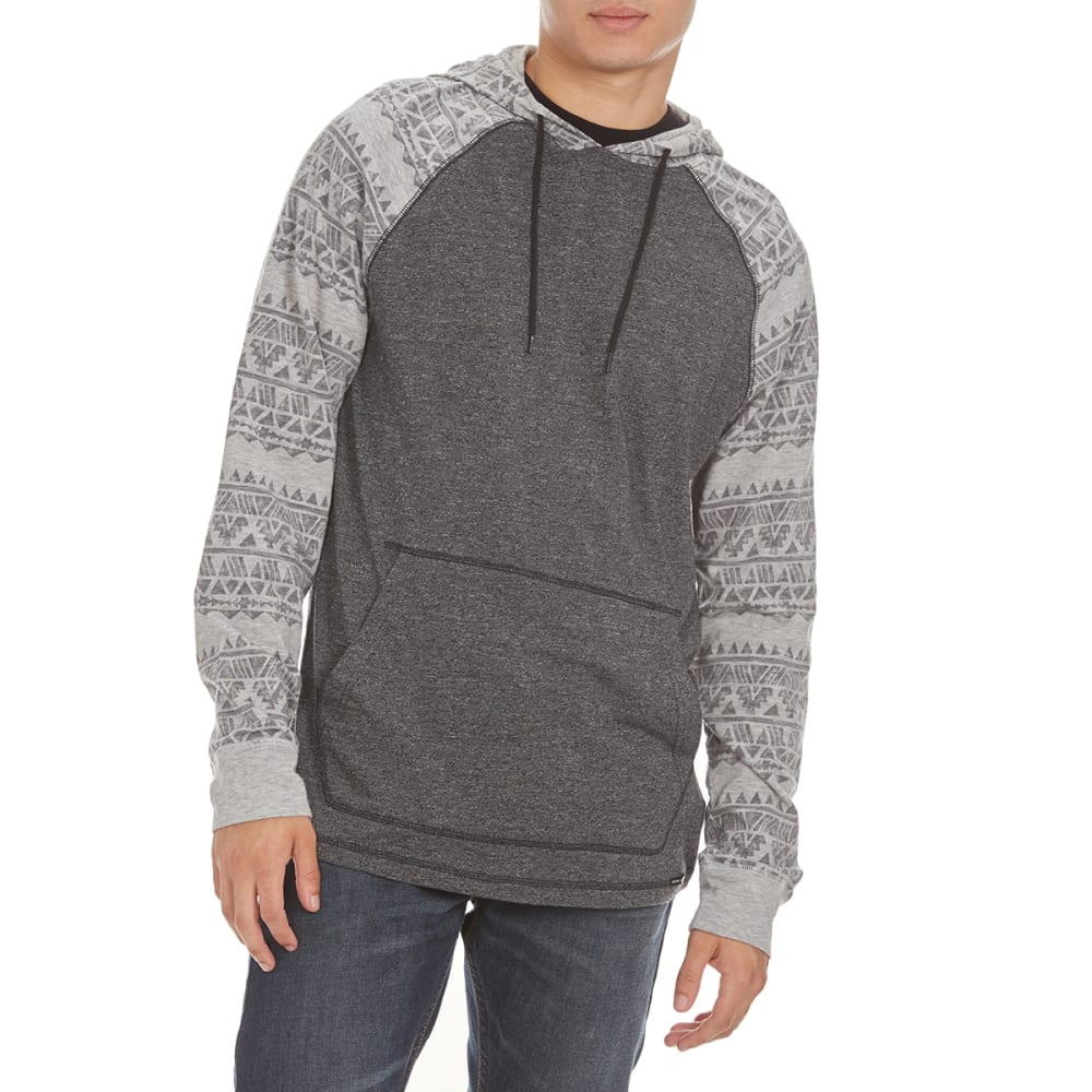 OCEAN CURRENT Guys' You Raglan Hoodie - BLACK