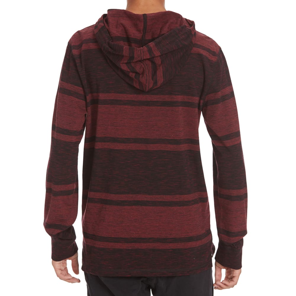 OCEAN CURRENT Guys' Archibald Hoodie - DEEP BURGUNDY